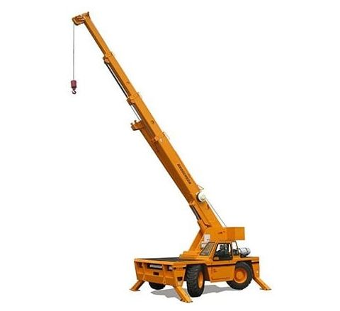 15 Ton carry deck crane
