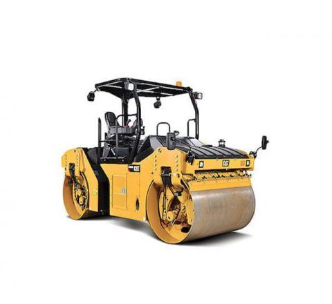 66 inch diesel double drum ride-on roller