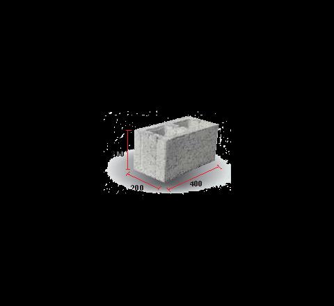 "Hollow Block 8"" (200 X 200 X 400)"