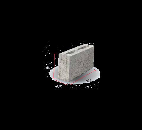 """Light Weight Hollow Block 4"""" (200 X 100 X 400)"""